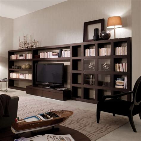 Creating A Home Library In The Living Room Interior
