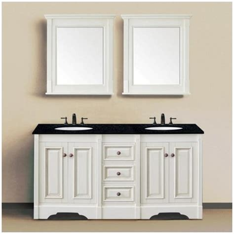 affordable kitchen sinks traditional 60 quot sink bathroom vanity by legion 1179