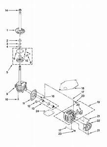 Roper Model Rtw4440vq1 Residential Washers Genuine Parts