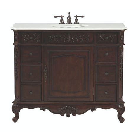 home decorators vanity home decorators collection winslow 45 in w bath vanity in 1655