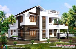 sq ft south facing vastu house kerala home design