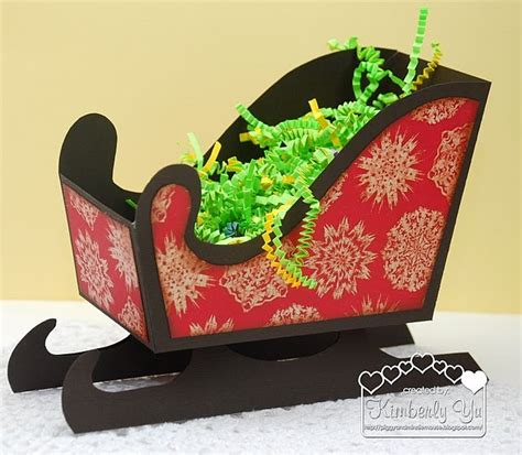 diy paper sleigh kids 138 best 3d papercrafts sleighs images on