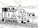 Coloring Pages Train Blank Popular sketch template