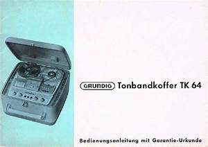 Download Grundig Tk 64 Owners Manual
