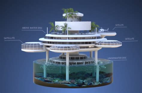 Awesome Underwater Hotel In Dubai The Water Discus by Water Discus Technology Poland