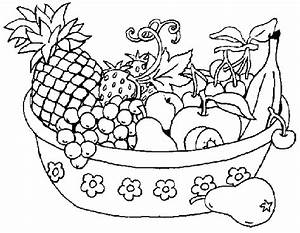 Vegetables black and white basket of fruits and vegetables ...