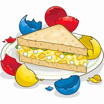 Sandwich Salad Egg Clipart Items Transparent Itembrowser