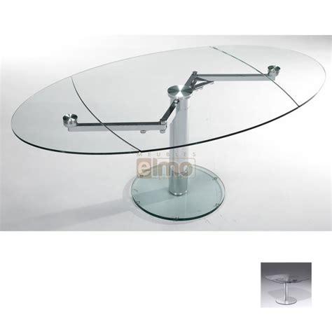 extensible de cuisine table en verre cuisine table carr avec 2 allonges ruben