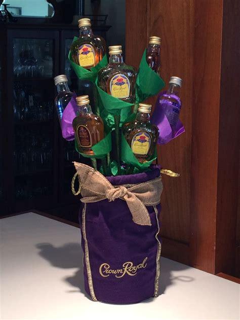 ideas  alcohol bouquet  pinterest