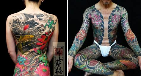 foto de 16 Fascinating Yakuza Tattoos and Their Hidden Symbolic