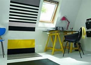 Kleines Wespennest Selber Entfernen : geometrische formen tolle wandgestaltung mit farbe ~ Lizthompson.info Haus und Dekorationen