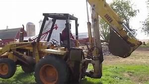 1974 Case Construction King 580 Back Loader Backhoe