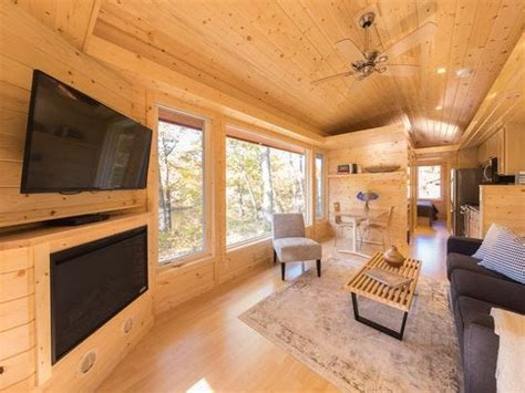 canoe bay escape village offers tiny houses  rent