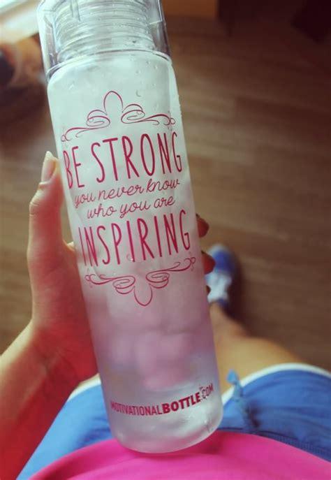 motivational water bottles sports water bottle