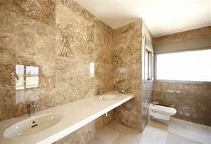 Fliesen Wand Bad : badezimmer marmor fliesen wand glasiert beige doppelwaschtisch bad pinterest badezimmer ~ Markanthonyermac.com Haus und Dekorationen