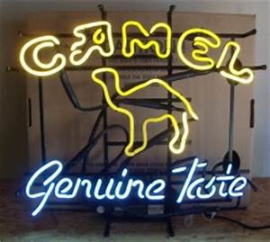 Camel Genuine Taste Cigarettes Neon Sign Light