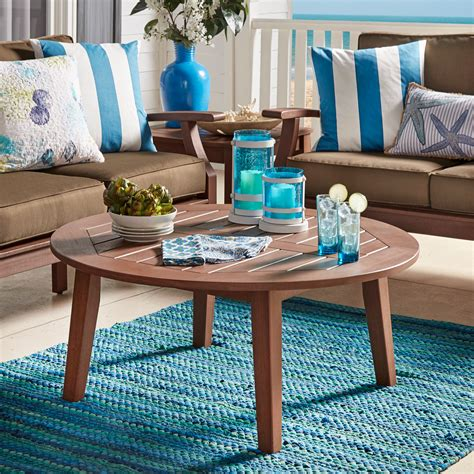 Tropitone raduno round coffee table base finish: Overstock.com: Online Shopping - Bedding, Furniture ...
