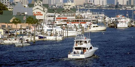 fishing florida towns destin village catch fintastic anglers luckiest chances snag alamy ll