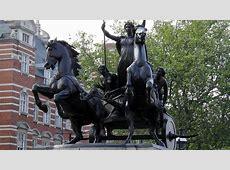 Estatua de Boudica en Westminster Bridge, Londres
