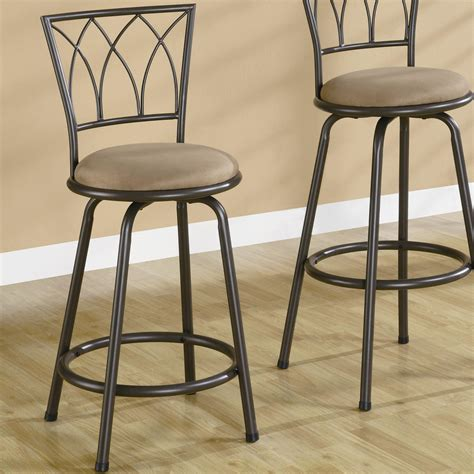 coaster dining chairs and bar stools 24 quot metal bar stool