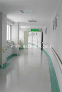 Bnie vinyl floor in hospital - composite floor - Bonie