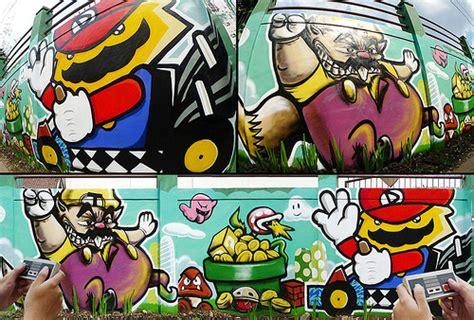 Graffiti Mario : Awesome Video Game Street Art
