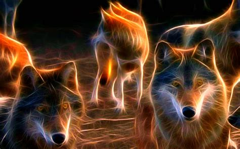 neon wolf wallpapers wallpaper cave