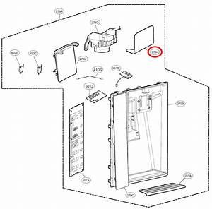 Lg Part  Abh74219603 Water Dispenser Lever  Oem