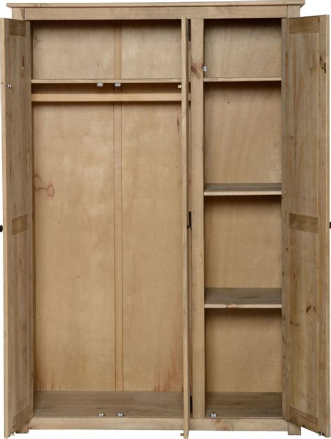 Wardrobe With Shelves by 30 Best Ideas Of Pine Wardrobe With Drawers And Shelves