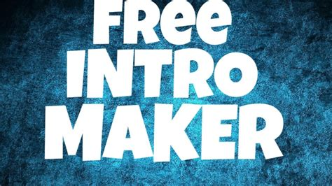 free intro free intro maker without watermark