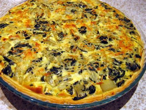 comment cuisiner des feuilles de blettes tarte aux blettes de maman la cuisine facile de