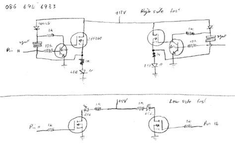 Full Bridge Inverter Circuit