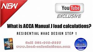 What Is Manual J  Understanding Acca Manual J Load