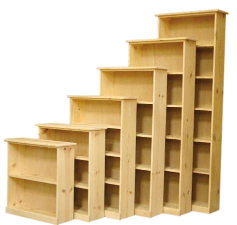 24 W Bookcase by Ponderosa Pine Bookcase 24 Quot W X 10 Quot D X 30 Quot H Bookcases