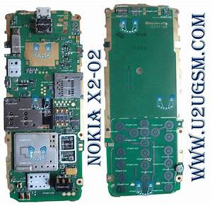 Nokia X2 Motherboard Diagram