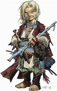 Gnome Sorcerer on Pinterest   Gnomes, Character Sketches ...