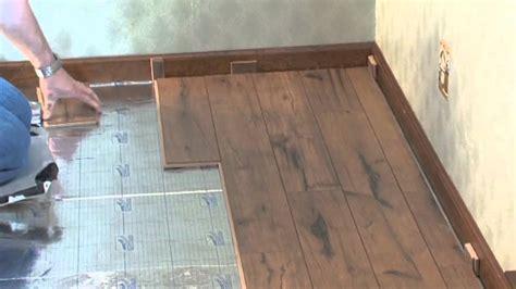 Lock N Place Laminate Flooring   YouTube