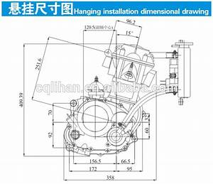 High Quality Zongshen 250cc Motorcycle Engine Assembly