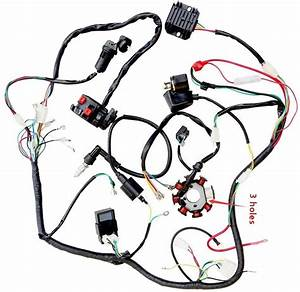 Wiring Harnes For 4 Wheeler