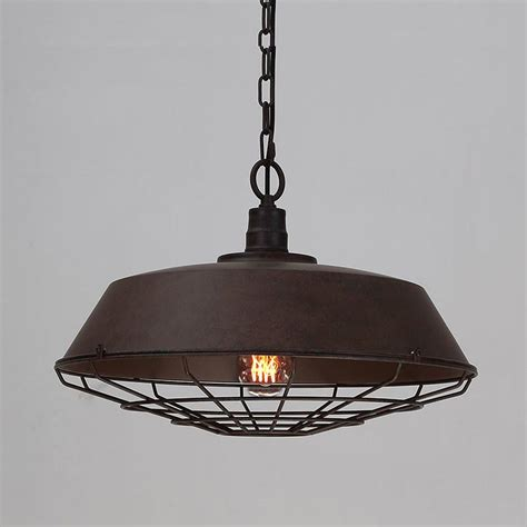 industrial lighting supply rustic industrial cage pendant light tudo and co tudo