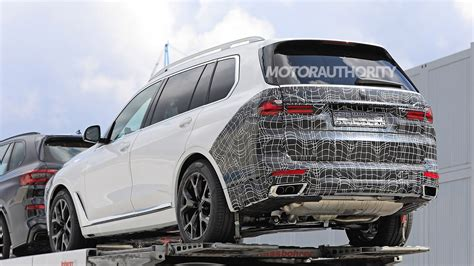 Dynamic engineering · dominating performance · legendary design 2023 BMW X7 spy shots: 7-Series styling in the cards for flagship SUV