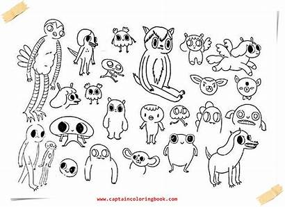 Camp Summer Island Coloring Colouring Pages Animals