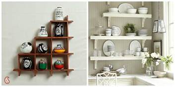 kitchen wall shelves ideas inspiring easy kitchen wall decoration ideas trendyoutlook