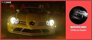 Dominic Cooper Mercedes-Benz SLR McLaren Roadster from ...