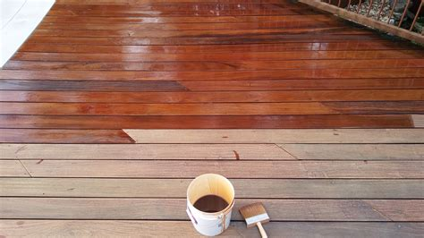 furbished ipe ready seal wood  deck restoration