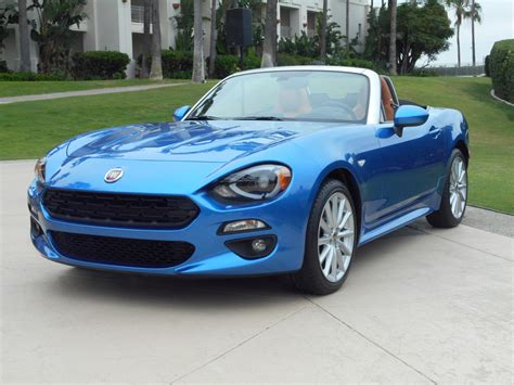 Fiat Merchandise by 2017 Fiat 124 Spider The Times Weekly Community