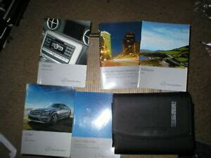 Úlohy mazání a údržby modelu 300 se. 2009 Mercedes C-Class owners manual with cover case | eBay