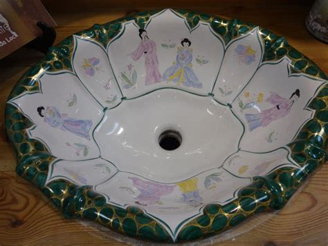 sherle wagner chinoiserie sink sherle wagner italian painted chinoiserie sink at the