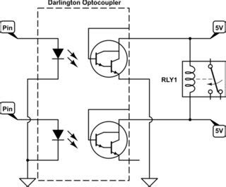 Latching Non Relay Driver Circuit With Darlington