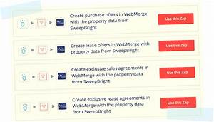 sweepbright and webmerge streamline your real estate With real estate document management system